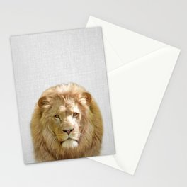 Lion - Colorful Stationery Cards