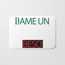 Dame Un Beso (Give Me a Kiss) Bath Mat
