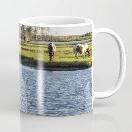 Chincoteague Ponies on Assateague Island Coffee Mug
