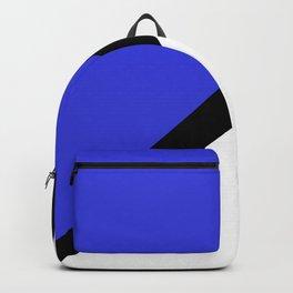 Blue Black X Backpack