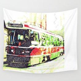 501 Street car Wall Tapestry