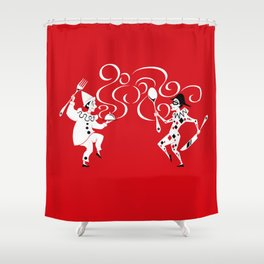 Delicious Deck: The Jokers Shower Curtain