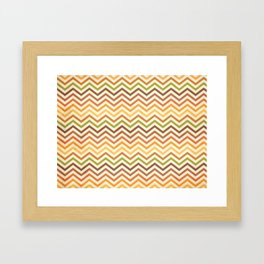 Retro 60 - First Wave Framed Art Print