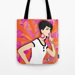 'Ssssh!' Subway Soul Tote Bag