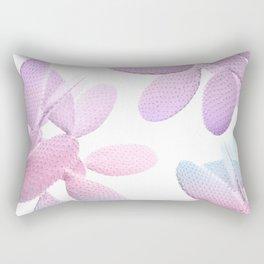 Unicorn Cacti Vibes #1 #pastel #pattern #decor #art #society6 Rectangular Pillow
