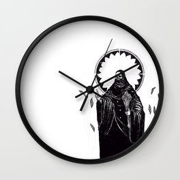 The Tarot of Death Wall Clock