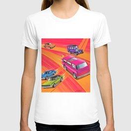 Vintage Redline Hot Wheels Sweet Sixteen Era Trade Print Poster T-shirt