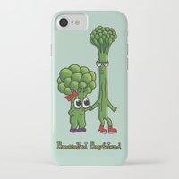 boyfriend iPhone & iPod Cases featuring Broccolini Boyfriend by khalan