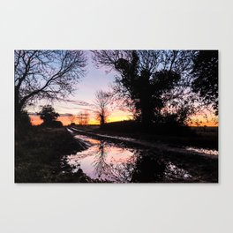 Dawn on the Lane Canvas Print