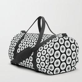 Geometric Pattern 246 (stars in circles 2) Duffle Bag
