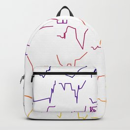 Fish tracks Backpack