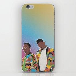 DJ JAZZY JEFF & THE FRESH PRINCE iPhone Skin