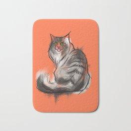 Norwegian Forest Cat Bath Mat