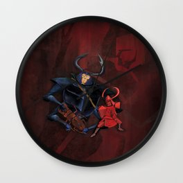 Beetle, Kubo digital painting Wall Clock