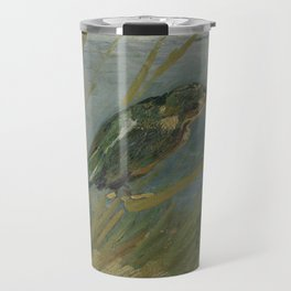 Kingfisher by the Waterside Travel Mug