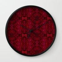 persian Wall Clocks featuring Persian rugs by Vargamari