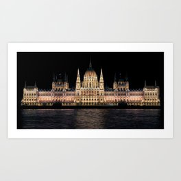 Hungarian Parliament   Architecture Art Print