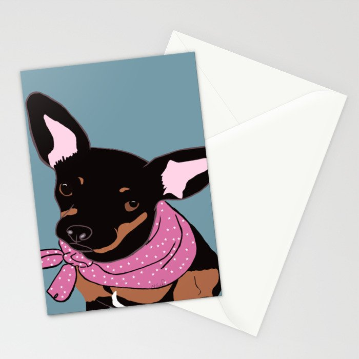 Sweet Chihuahua Stationery Cards