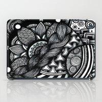 zentangle iPad Cases featuring zentangle by goyye