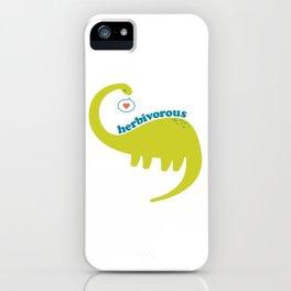 Herbivorous iPhone Case