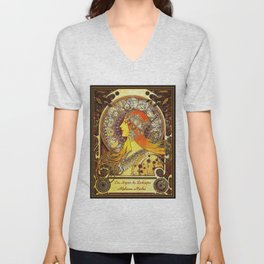 The Signs of the Zodiac Unisex V-Neck