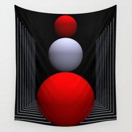a bit geometry -16- Wall Tapestry