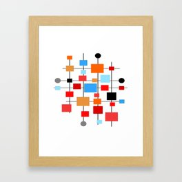 Mid-Century Modern Art 1.3.3 Framed Art Print