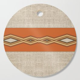 Southwestern Earth Tone Texture Design Cutting Board