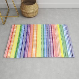 Tribality Rainbow Rug