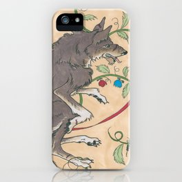 Spiel Mit Mir: Alphawolf iPhone Case