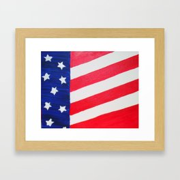 Patriotic Me! Framed Art Print