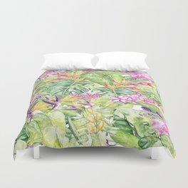 Tropical Garden 1A #society6 Duvet Cover