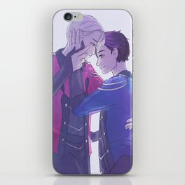 "We Call Everything on the Ice ""Love"" iPhone Skin"