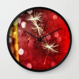 Wishing for Love Wall Clock