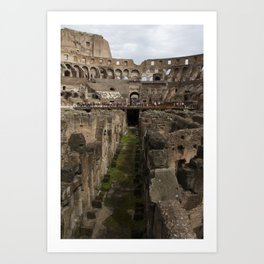 The Whole Coliseum Art Print