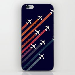 Aerial acrobat iPhone Skin