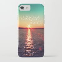 carpe diem iPhone & iPod Cases featuring carpe diem by Sylvia Cook Photography