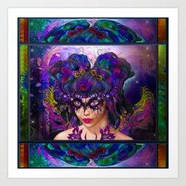 Faerie Masquerade Art Print