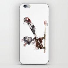 Lapin Barbare iPhone & iPod Skin