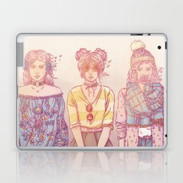 Three Wise Sisters Laptop & iPad Skin