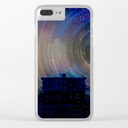 Rotation of the Stars Clear iPhone Case