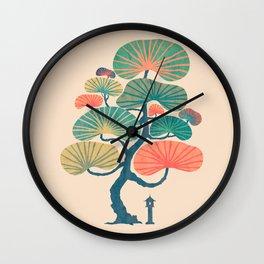 Japan garden Wall Clock