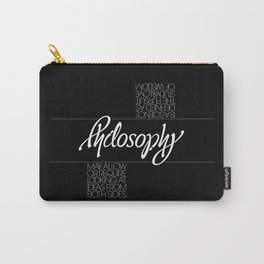 Philosophy Carry-All Pouch