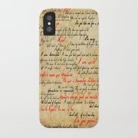 grantaire iPhone & iPod Cases featuring Grantaire by Jessica Latham
