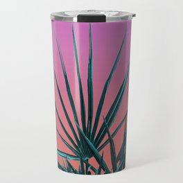 Pink Palm Life - Miami Vaporwave Travel Mug