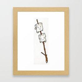 Marshmallow Cuties Framed Art Print
