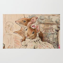 Mice By Beatrix Potter Rug