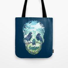 Nature's Skull Tote Bag