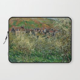 Plum Trees in Blossom Laptop Sleeve