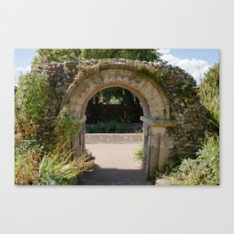 The Old Archway Canvas Print